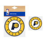 Indiana Pacers NBA Car Sticker