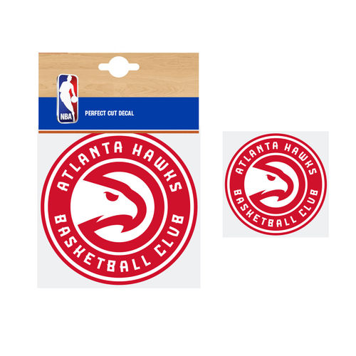 Atlanta Hawks NBA Car Sticker