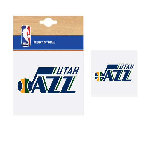 Utah Jazz NBA Car Sticker