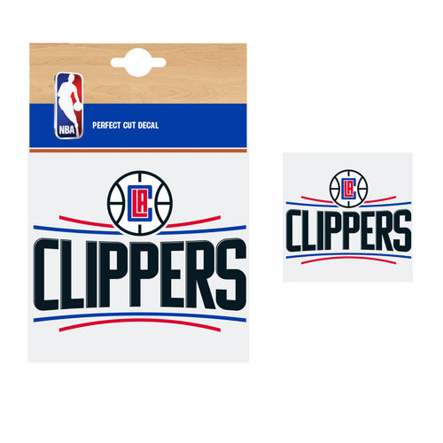 Los Angeles Clippers NBA Car Sticker