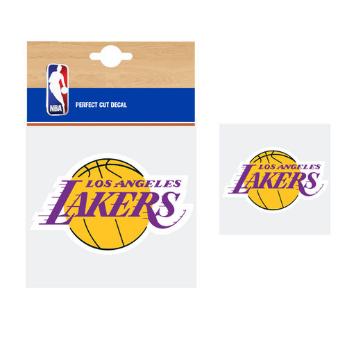 Los Angeles Lakers NBA Car Sticker