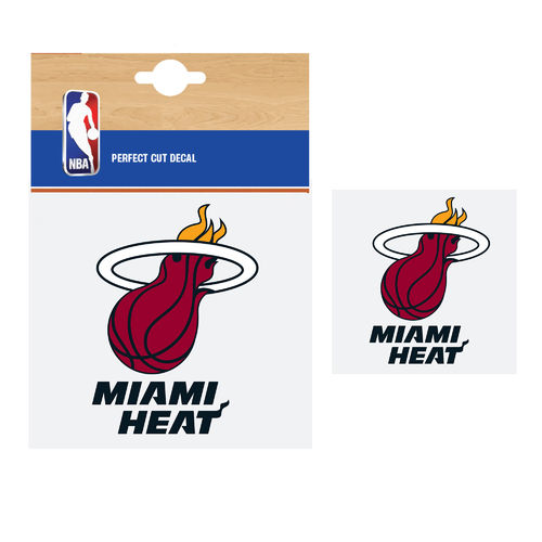 Miami Heat NBA Car Sticker