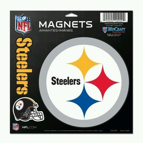 Pittsburgh Steelers Magnets 3-Pack