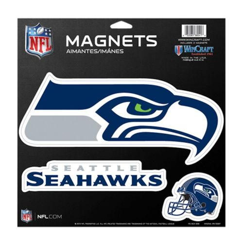 Seattle Seahawks Magnets 3-Pack