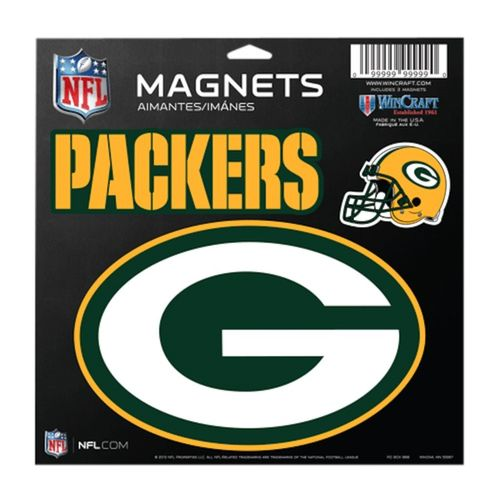Green Bay Packers Magnets 3-Pack
