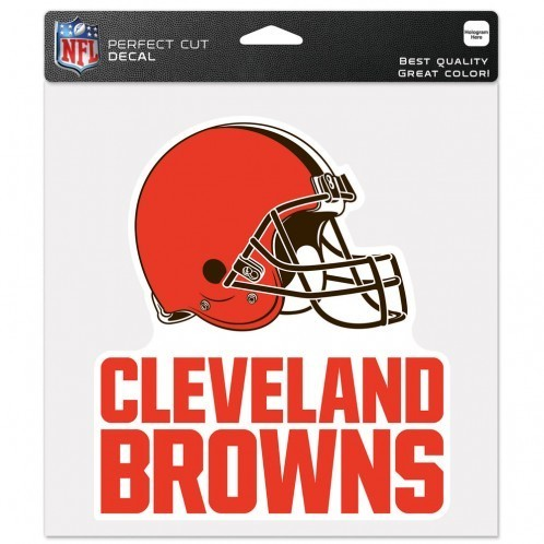 Cleveland Browns Perfect Cut Color Decal
