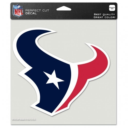 Houston Texans Perfect Cut Color Decal