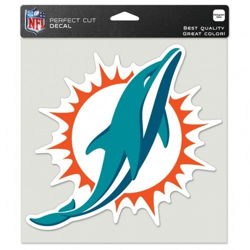Miami Dolphins Perfect Cut Color Decal