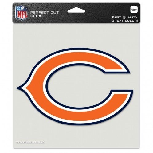 Chicago Bears Perfect Cut Color Decal