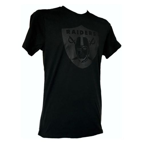 Oakland Raiders Tonal Black T-Shirt