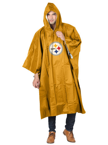 Pittsburgh Steelers Rain Poncho