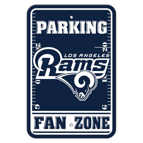 Los Angeles Rams Parking Sign