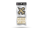 New Orleans Saints Double Up Die-Cut Stickers