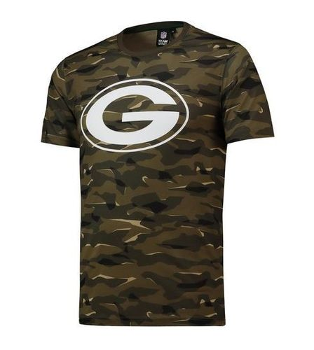 Green Bay Packers Camo T-Shirt Khaki