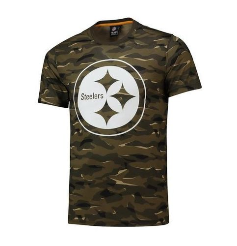 Pittsburgh Steelers Camo T-Shirt Khaki