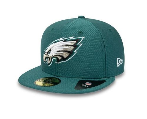 Philadelphia Eagles Hex Era New Era 59FIFTY