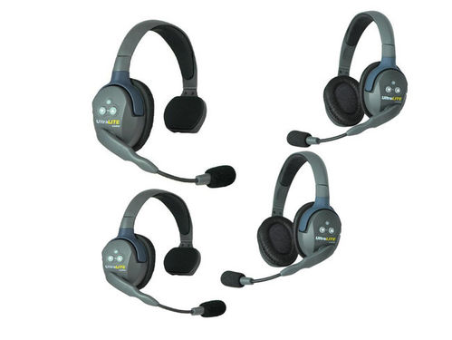 Headset Eartec Ultralite 4-22 (UL422) DECT Single Intercomsystem (EU CE Version)