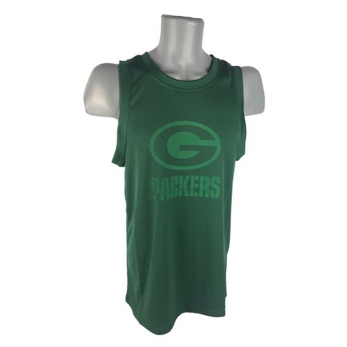 Green Bay Packers Tonal Logo Tank Top