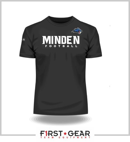 Minden Wolves Team T-Shirt black