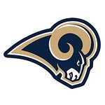 Los Angeles Rams Logo On The Gogo