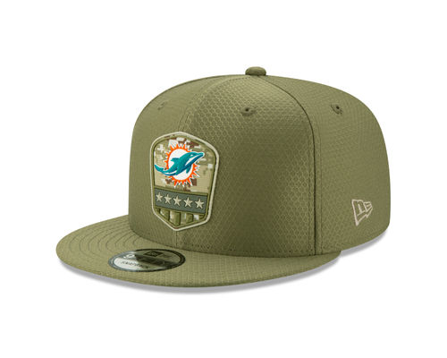 Miami Dolphins Salute To Service 2019 New Era 9Fifty