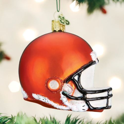 Cleveland Browns Christbaum Ornament Helm