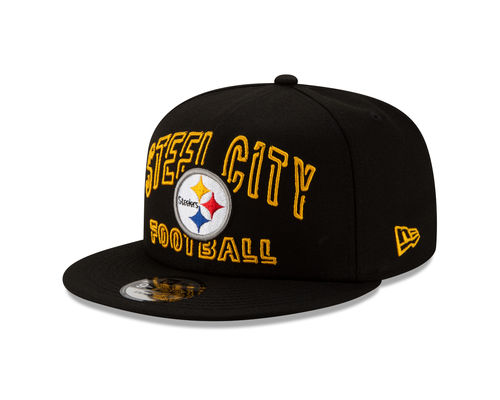 Pittsburgh Steelers Draft 2020 Alternate New Era 9FIFTY Youth