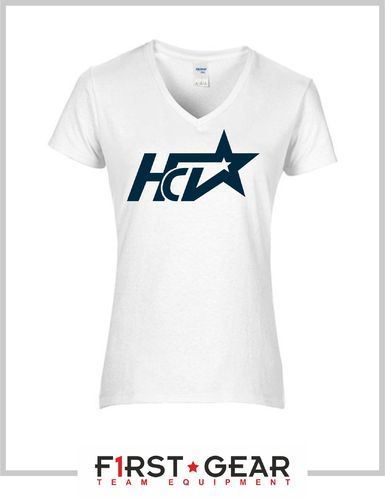 HCV Basic Damen V-Neck T-Shirt