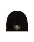 San Francisco 49ers Salute To Service 2020 New Era Beanie